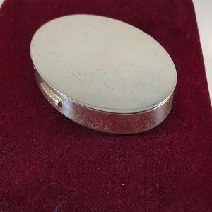 Vintage Tiffany 925 Silver Compact
